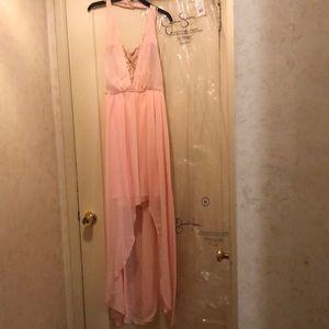 Dresses & Skirts - Jessica Simpson high low halter dress